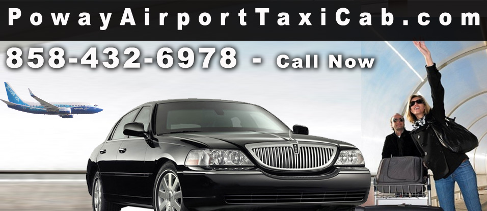 Airport Taxi Cab in Poway